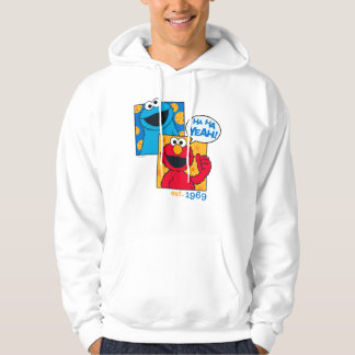 Cookie Monster & Elmo | Ha Ha Yeah Hoodie