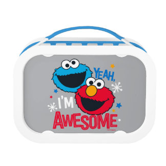 Cookie Monster & Elmo | Yeah, I'm Awesome Lunch Box