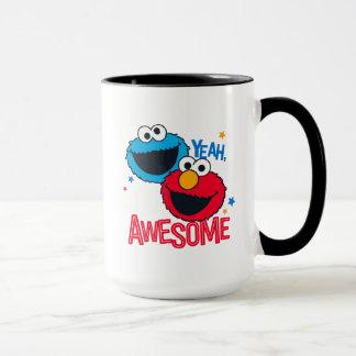 Cookie Monster & Elmo | Yeah, I'm Awesome Mug