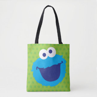 Cookie Monster Face 2 Tote Bag