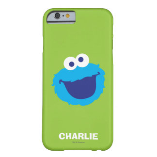 Cookie Monster Face | Add Your Name Barely There iPhone 6 Case