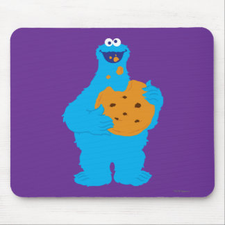 Cookie Monster Graphic Mouse Pad