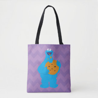 Cookie Monster Graphic Tote Bag
