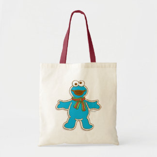 Cookie Monster Holiday Budget Tote Bag