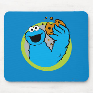 Cookie Monster Image Mouse Pad