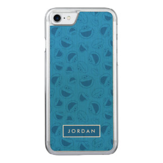 Cookie Monster | Me Awesome Blue Pattern Carved iPhone 8/7 Case