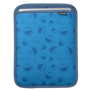 Cookie Monster | Me Awesome Blue Pattern iPad Sleeve