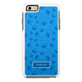 Cookie Monster | Me Awesome Blue Pattern OtterBox iPhone 6/6s Plus Case