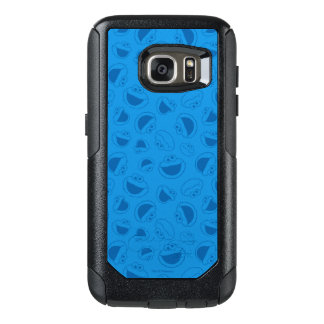 Cookie Monster | Me Awesome Blue Pattern OtterBox Samsung Galaxy S7 Case