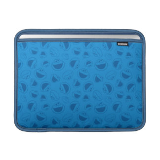 Cookie Monster | Me Awesome Blue Pattern Sleeve For MacBook Air