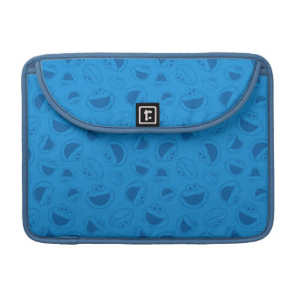 Cookie Monster | Me Awesome Blue Pattern Sleeve For MacBooks