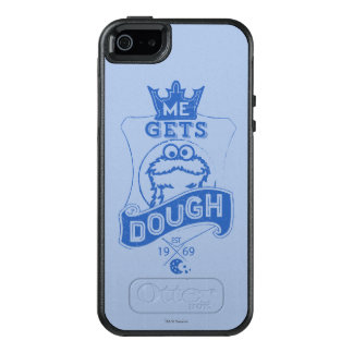 Cookie Monster Me Gets Dough OtterBox iPhone 5/5s/SE Case