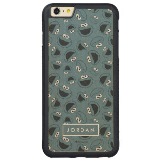 Cookie Monster | Me Hungry Pattern Carved Maple iPhone 6 Plus Bumper Case
