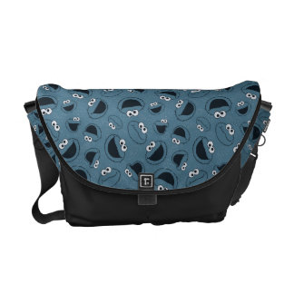 Cookie Monster | Me Hungry Pattern Commuter Bags