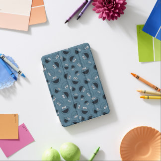 Cookie Monster | Me Hungry Pattern iPad Mini Cover