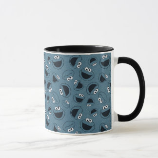 Cookie Monster   Me Hungry Pattern Mug