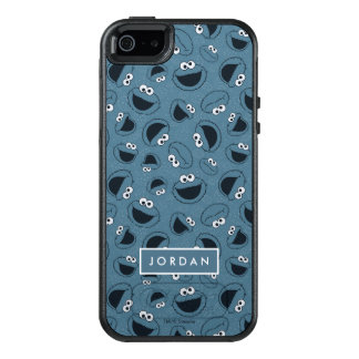 Cookie Monster | Me Hungry Pattern OtterBox iPhone 5/5s/SE Case