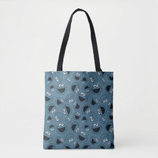 Cookie Monster | Me Hungry Pattern Tote Bag
