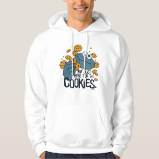 Cookie Monster | Me Just Here for the Cookies Hoodie