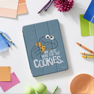 Cookie Monster | Me Just Here for the Cookies iPad Air Cover
