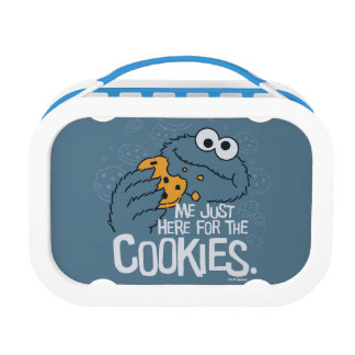 Cookie Monster | Me Just Here for the Cookies Lunch Box