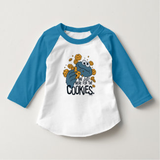 Cookie Monster | Me Just Here for the Cookies T-Shirt