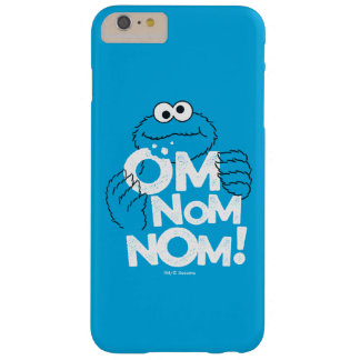 Cookie Monster | Om Nom Nom! Barely There iPhone 6 Plus Case