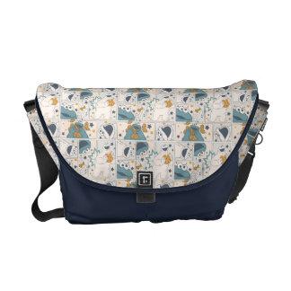Cookie Monster | Om Nom Nom Comic Pattern Commuter Bags