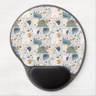 Cookie Monster | Om Nom Nom Comic Pattern Gel Mouse Pad