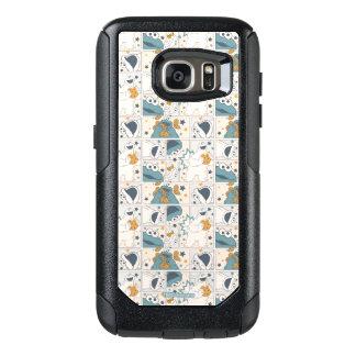 Cookie Monster | Om Nom Nom Comic Pattern OtterBox Samsung Galaxy S7 Case