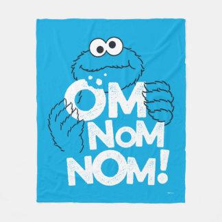 Cookie Monster | Om Nom Nom! Fleece Blanket