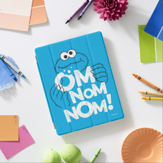 Cookie Monster | Om Nom Nom! iPad Cover