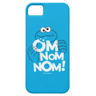 Cookie Monster   Om Nom Nom! iPhone 5 Cases