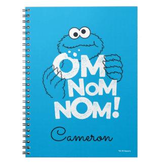 Cookie Monster   Om Nom Nom! Notebooks