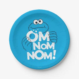 Cookie Monster | Om Nom Nom! Paper Plate