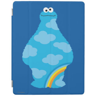 Cookie Monster Rainbows iPad Cover