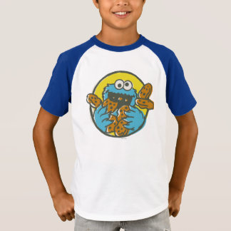 Cookie Monster Retro T-Shirt