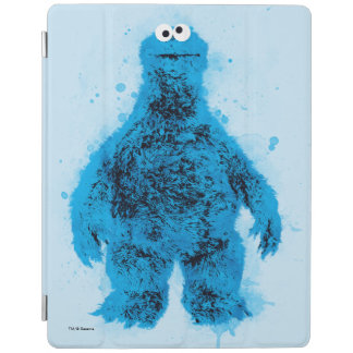 Cookie Monster | Watercolor Trend iPad Cover