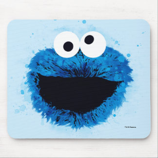 Cookie Monster | Watercolor Trend Mouse Pad