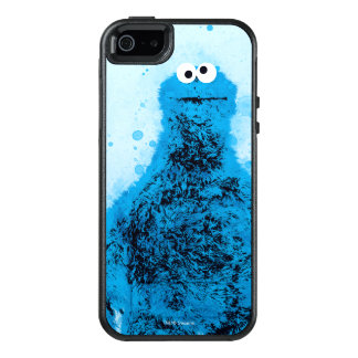 Cookie Monster   Watercolor Trend OtterBox iPhone 5/5s/SE Case