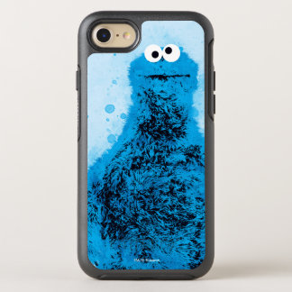 Cookie Monster   Watercolor Trend OtterBox Symmetry iPhone 8/7 Case