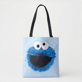 Cookie Monster | Watercolor Trend Tote Bag