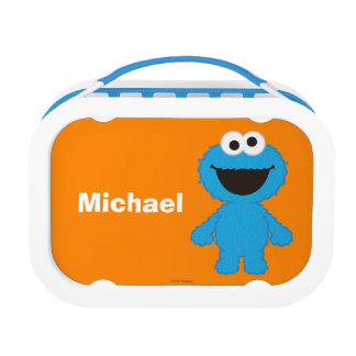 Cookie Monster Wool Style | Add Your Name Lunch Box