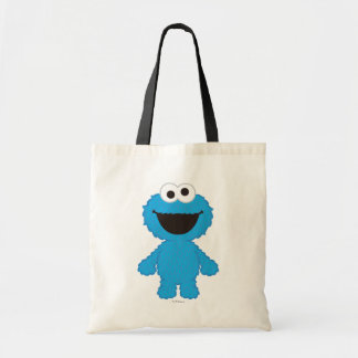 Cookie Monster Wool Style Budget Tote Bag