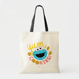Cookie Monster Yum Budget Tote Bag