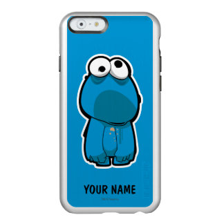 Cookie Monster Zombie | Add Your Name Incipio Feather® Shine iPhone 6 Case