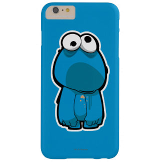 Cookie Monster Zombie Barely There iPhone 6 Plus Case