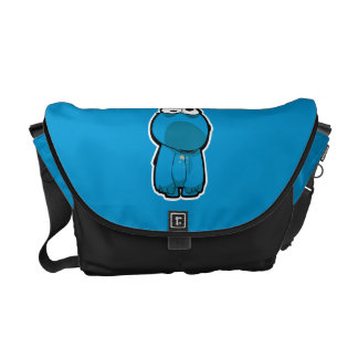 Cookie Monster Zombie Commuter Bags