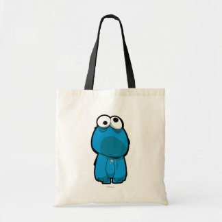 Cookie Monster Zombie Tote Bag