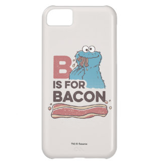 Cookie MonsterB is for Bacon iPhone 5C Case